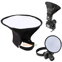 20cm Round Flash Umbrella Softbox Diffuser Speedlight Studio Photography Canon