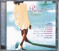 Reggae Lovers Rock Romantic Pure Lovers Vol 13 Various Artists Music CD Album