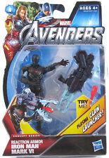 Marvel Avengers Reactron Armor Iron Man Mark VI Figure 2011 MOC *Concept Series*