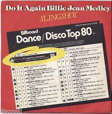 "SLINGSHOT - Do It Again (Medley With Billie Jean VINYL 7"" 45 LP ITALY 1983 NM/VG"