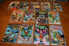 LOT DC COMICS: BATMAN, ROBIN, CAMELOT 3000, TITANS, AQUAMAN & MORE READ & LOVED