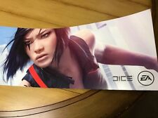 """Mirror's Edge Catalyst -  VIDEO GAME POSTER -       35 3/4"""" X  7 1/2"""""""