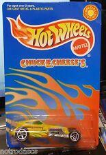 HTF SPECIAL EDITION ~ CHUCK E CHEESE'S 2001 HOT WHEELS ~ SWEET 16 CAR w/ 5 SPKs