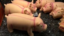 Coastal Pet - Rascals Latex Grunting Pig Dog Toy, 8'' PINK, FREE SH