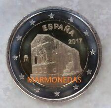 """AÑO 2017 ESPAÑA MONEDA 2€ """"MONUMENTOS DE OVIEDO. EL NARANCO. DISPONIBLE. S/C"""