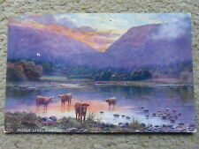 VINTAGE POSTCARD. MIDDLE LAKE,KILLARNEY, IRELAND.POSTED,30.3.1907.TUCK'S