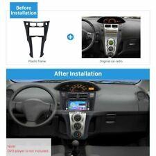 Car Radio Fascia Installation Fitting Frame Kit 2DIN For Toyota Yaris Vitz Platz