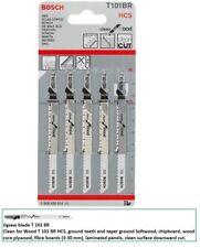 Bosch T101BR Jigsaw blades (5) down cut worktop 2608630014  VAT RECEIPT