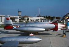 Turkey Af F-84G Thunderjet 110572 yr 1990 Yesilkoy H1494 35mm Aircraft Slide