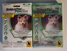 ShieldTec Plus for Dogs, Stop Fleas Ticks & Mosquitoes, Medium 16-33 lb (7 Dose)