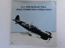 FILM SPECTACULAR Vol. 6 WORLD WAR II - Stanley Black - WRC OZ press LP
