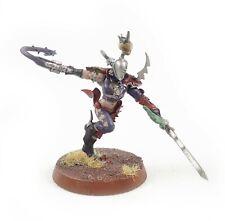 Warhammer 40k Army Dark Eldar Drukhari Succubus Painted