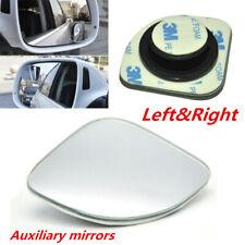 Left & Right Side Fan-shaped Blind Spot Wide-view Rear Assist Mirror for Car