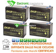 Batteria CICLICA al piombo 12V 12Ah 48V per biciclette elettriche no 14ah