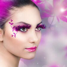 Eyelashes Fault Makeup Eye Lashes Party Cosmetics Halloween Feather