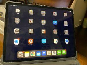 "Apple iPad Pro 12.9"" 3rd Gen. 256GB, Wi-Fi + Cellular - Space Gray, Flawless"