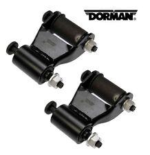Pair Dorman 722-020 Rear Position Leaf Spring Shackle Kit - fits 97-11 Dakota/ 0