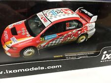 MITSUBISHI L.Evo IX #33 Sweden 2008 dirty effect IXO RALLY 1:43 DIECAST- RAM319