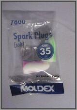 Moldex Spark Plugs 7800, 25 paia, confezionate singolarmente, Paraorecchi, tappi per le orecchie
