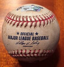 Jim Edmonds St. Louis Cardinals Game Used Actual 1766th Hit Baseball MLB HOLO