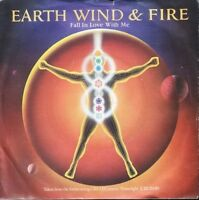 """EARTH WIND AND FIRE fall in love with me 7"""" PS EX/EX uk"""
