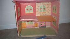 American Greetings Vintage 1981 Strawberry Shortcake CARDBOARD DOLL HOUSE * SALE