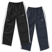Boys Track Trousers Tracksuit Bottoms  Navy or Black Ages 2-3 up to 13 Years