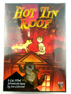 Hot Tin Roof Cat Filled Adventure Board Game Mayfair Games Family Game Night NEW