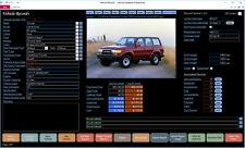 Car Mechanic Software - Vehicle Database Professional for Windows CDROM
