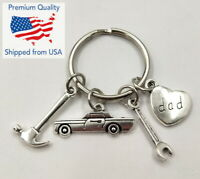 Keychain Car Tools Wrench Hammer Charms & Pendants Gift for Dad / Father's Day