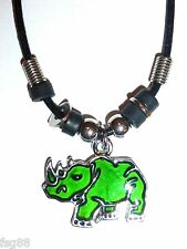 NEW Rhino Mood Necklace Color Change Pendant Necklace