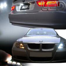 BMW E90 E91 Série 3 4 Ampoules LED Blanc Plaque et veilleuses anti erreur Canbus