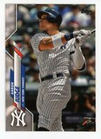 2020 Topps Series 1 AARON JUDGE Rare BASE BASEBALL CARD #7 New York Yankees