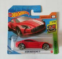 Aston Martin One-77 Hot Wheels 2020 Caja N Exotics 7/10 Mattel