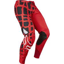 Fox Racing Mx Gear NEW 360 Grav Red Black Dirt Bike Motocross Pants