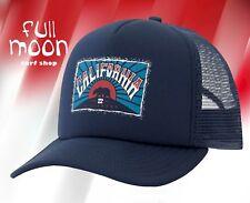 New Billabong Republic California CA Mens Snapback Trucker Cap Hat