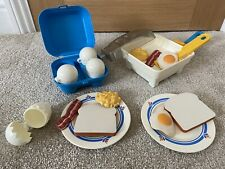 Vintage Fisher Price - Fun With Food - Sizzling Skillet Breakfast Kit 1987