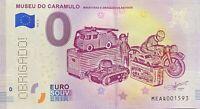 BILLET 0  EURO 3 BILLETS PORTUGAL PERFORRE OBRIGADO   2018 LES 3 BILLETS