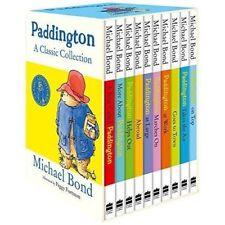 Paddington Bear A Classic Library Collection by Michael Bond 10 Book Set