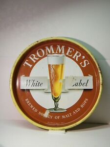 """TROMMER'S WHITE LABEL Beer Serving Tray, 13 1/8"""""""