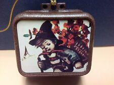Vintage Hummel Music Box With Pull Down Cord - Made In Japan