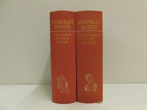 Wilhelm Busch Werke in 2 Bänden Was beliebt ist auch erlaubt/Und die Moral...