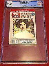 TV Guide v53 #18 May 1, 2005  CGC 9.2 Padme Princess Leia Star Wars Hologram