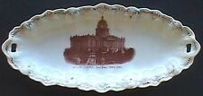 Beautiful Sacramento California antique platter w/ Century Old pic State Capitol