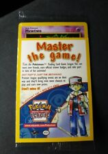New Sealed VHS Movie Promo Mewtwo #14 Black Star Pokemon Non Holo WOTC