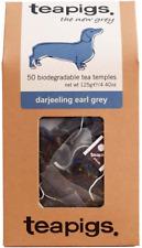 Teapigs Darjeeling Earl Grey SACCHI realizzati con foglie intere 1 confezione di 50 Tè