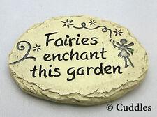 Fairy Garden Stepping Stones Fairies Enchant Ganz Outdoor Fantasy Mini New