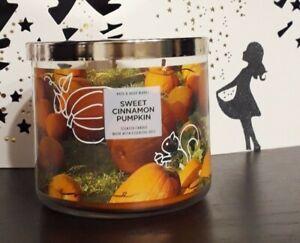 Bath Body Works Candle Kerze Sweet Cinnamon Pumpkin