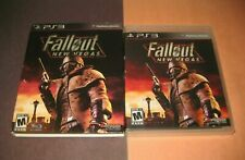 Fallout New Vegas w/ Slip Cover PlayStation 3 Complete Black Label FREE SHIPPING