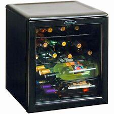 Wine Bottle Cooler Liquor Cabinet Mini Refrigerator Beer Chiller Fridge Bar 17